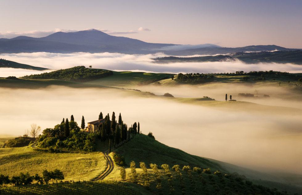The magic of Tuscany, Italy