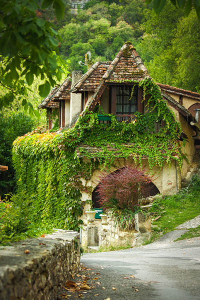 Old House, Rocamadour, France