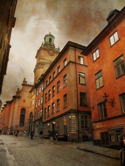 Rainy Day, Stockholm, Sweden