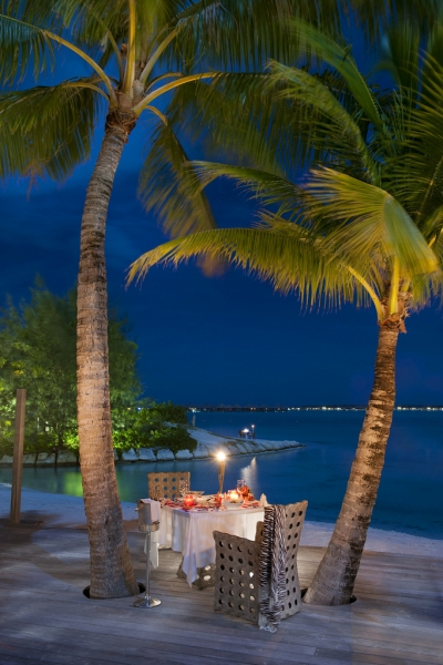 Dinner on Terrace, Bora Bora