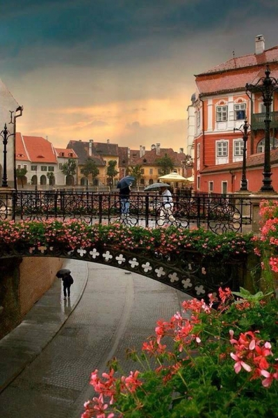 Liars Bridge, Sibiu, Romania