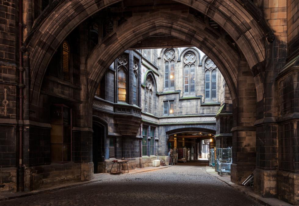 Portal, Manchester City Hall, England