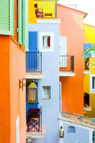 Colourful Saint Tropez