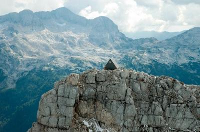Bivacco Luca Vuerich, Italian Alps