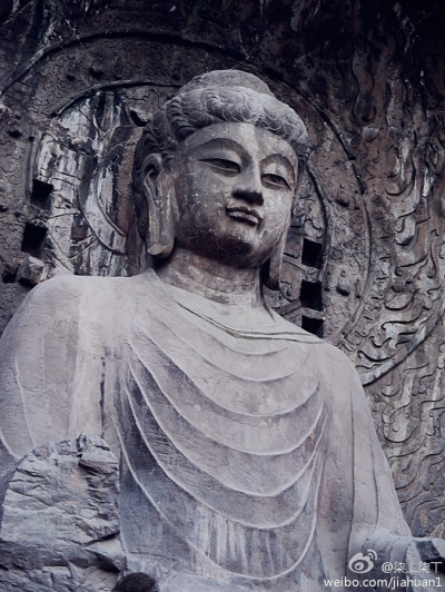 Buddha statue, Luoyang, China