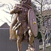 Statue of the first King of Norway, Harald Harfagre