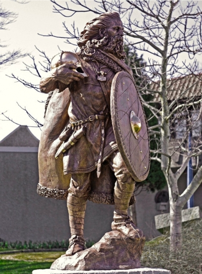 Statue of Harald Hårfagre, the first King of Norway