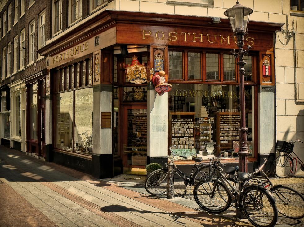Corner shop, Amsterdam, Netherlands