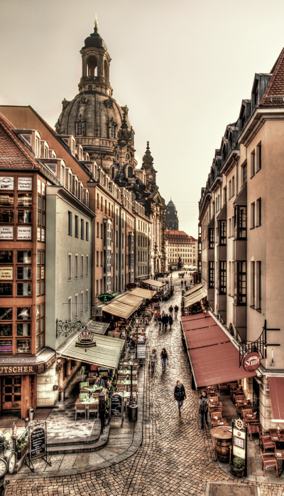 Old centre of Dresden, Germany
