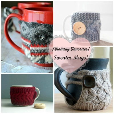 Holiday favorites: Sweater Mugs