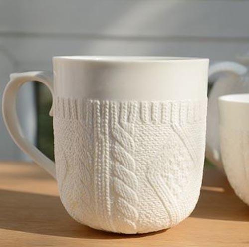 Mug Sweater Knitting Pattern : Holiday favorites: Sweater Mugs photo on Sunsurfer
