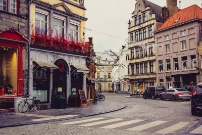 Winter in Brugge, Belgium