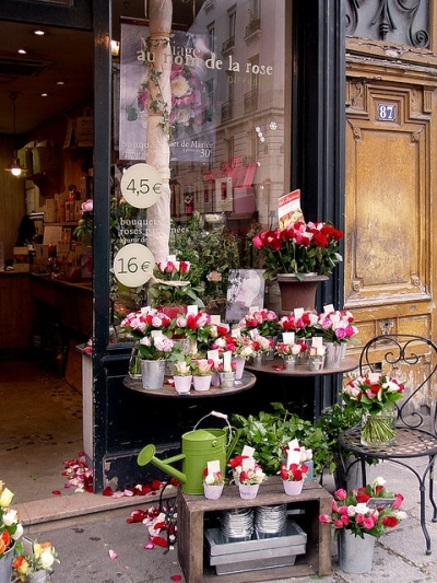 Flower shop, Paris