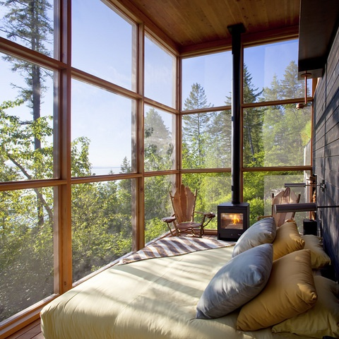 Sleeping Porch, Flathead Lake, Montana
