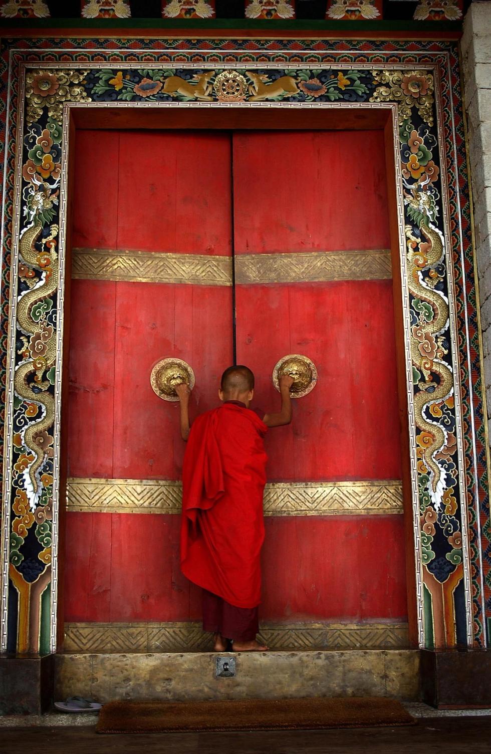 Trongsa Dzong, Bhutan