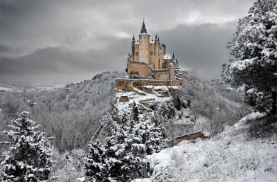 Alcazar castle of Segovia, Spain