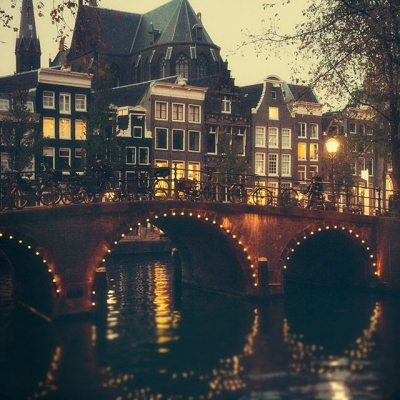 Late evening, Amsterdam