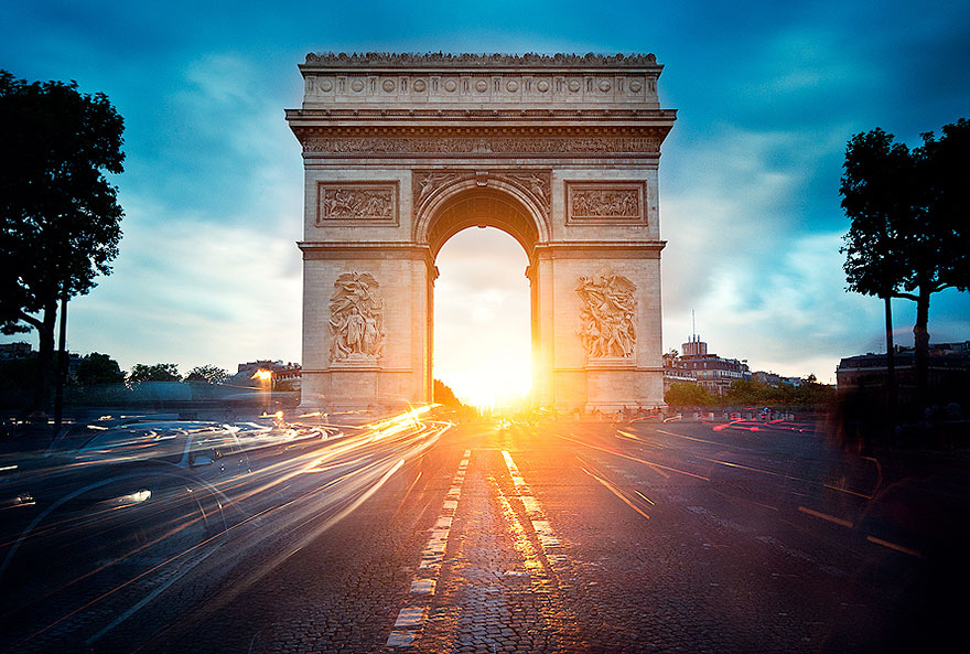 Arc de Triomphe, Paris 1