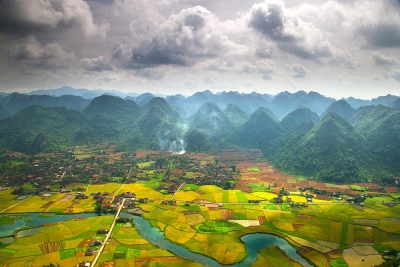 Bacson Valley, Vietnam