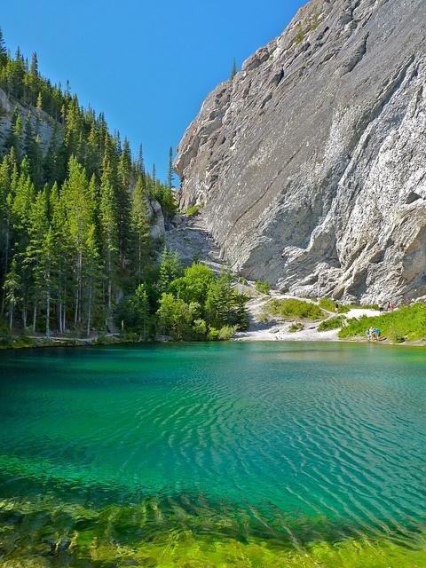 Grassi Lakes, Canmore, Alberta, Canada