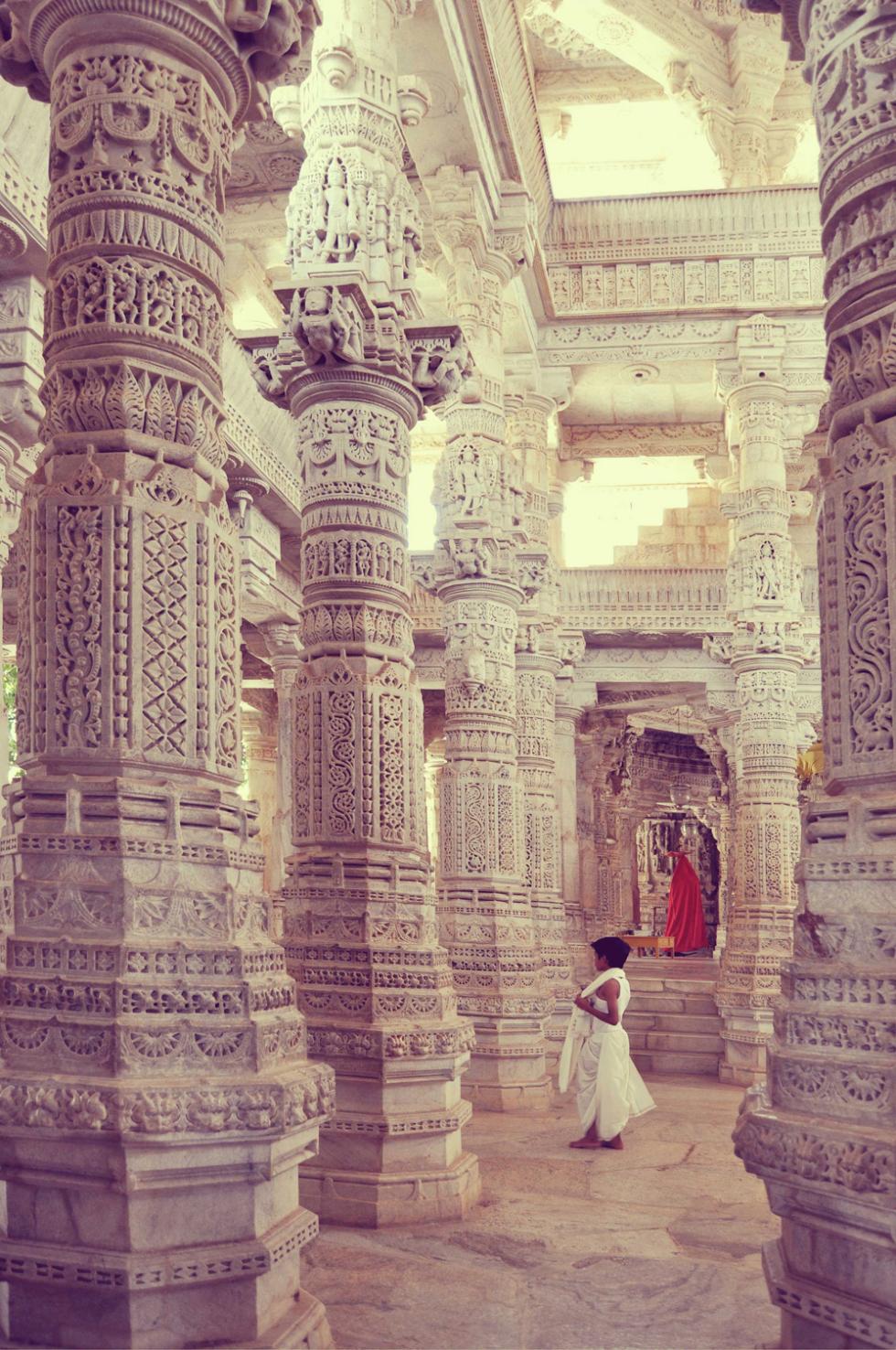 Jain Temple, Ranakpur, Rajasthan, India