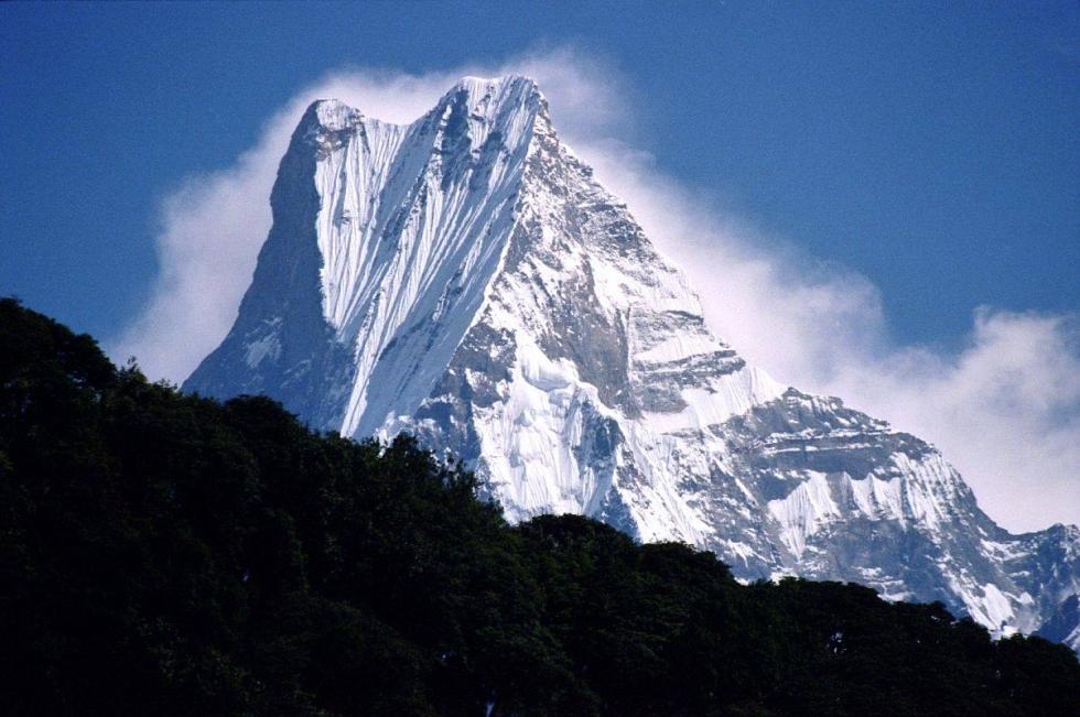 Machhapuchchhre, Tadapani, Nepal