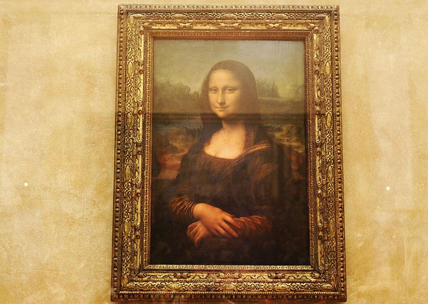 Mona Lisa, Louvre Museum, Paris 1