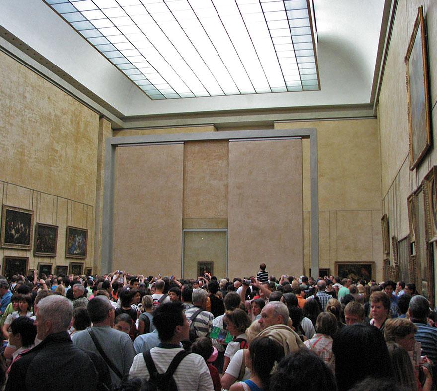 Mona Lisa, Louvre Museum, Paris 2
