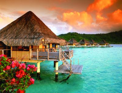 Overwater bungalow, Bora Bora