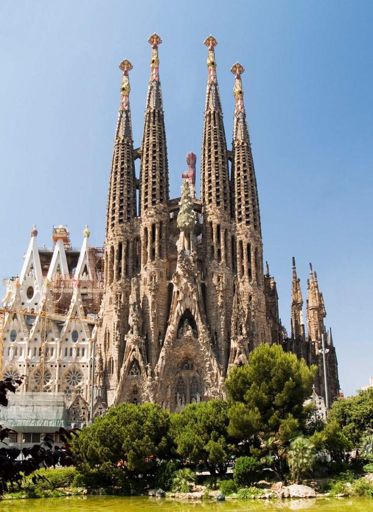 Sagrada Familia, Barcelona 1