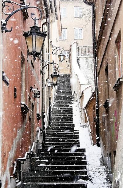 Winter in Montmartre, Paris