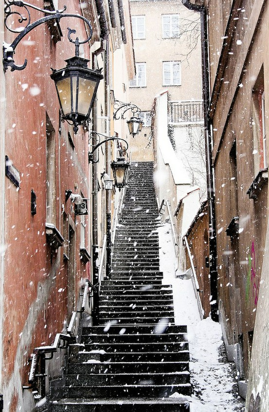 Winter in Montmartre, Paris
