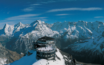 Piz Gloria revolving restaurant, Schilthorn, Switzerland