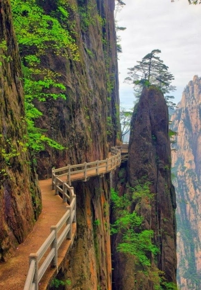Huangshan Paths, China
