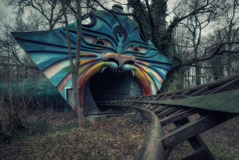 Spreepark, Berlin, Germany