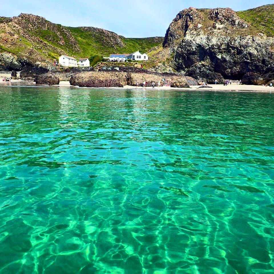 Kynance Cove Cafe, in Cornwall, England
