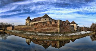 Făgăraș Citadel, Transilvania, Romania
