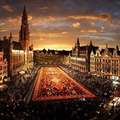The Flower Carpet, Brussels, Belgium
