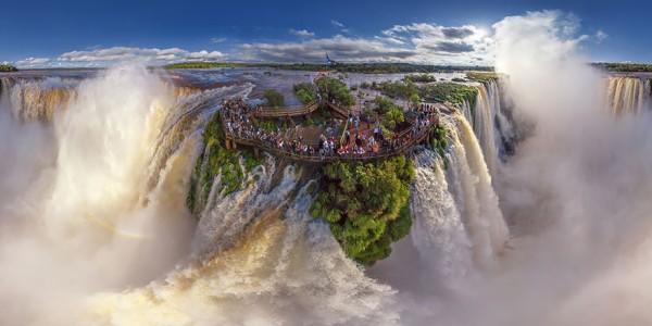 Iguasu Falls, Argentina and Brazil 2