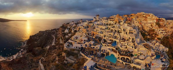 Santorini (Thira), Oia, Greece 1