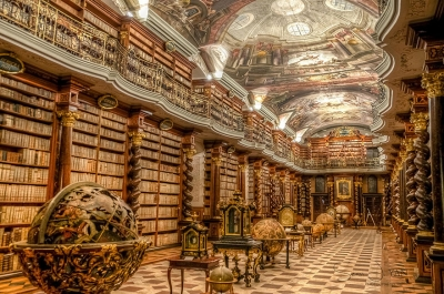 The Klementinum Library, Prague, Czech Republic