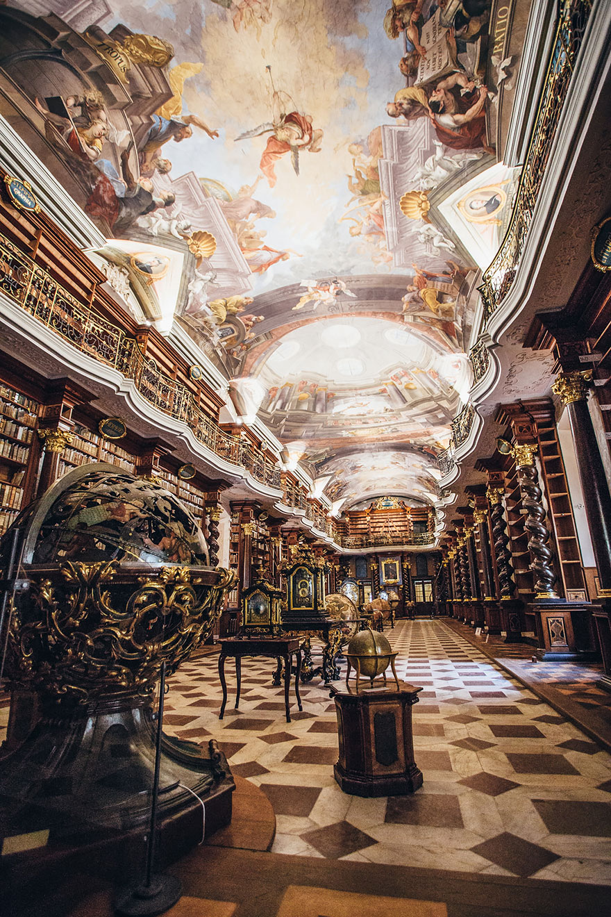 The Klementinum National Library, Prague, Czech Republic 02