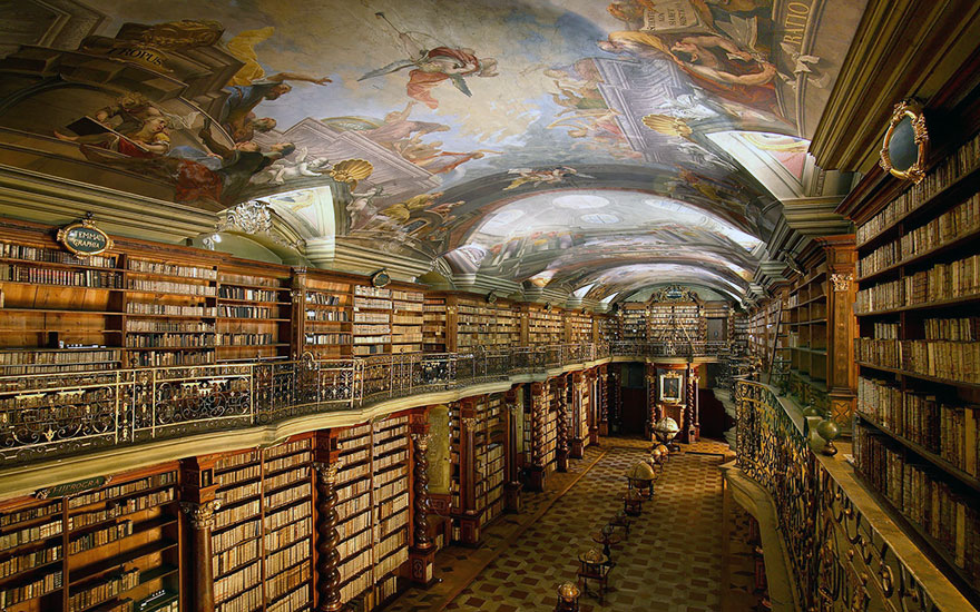 The Klementinum National Library, Prague, Czech Republic 05