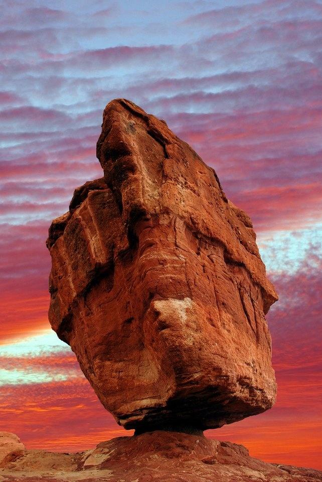 Balanced Rock The Garden Gods Colorado Springs